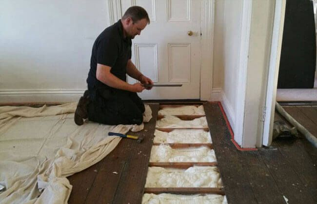 Floor Insulation Spray Foam Insulation Ireland Cpi Foam
