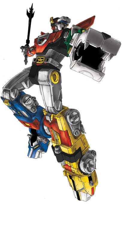 Voltron lion force robots real big small real created voltron