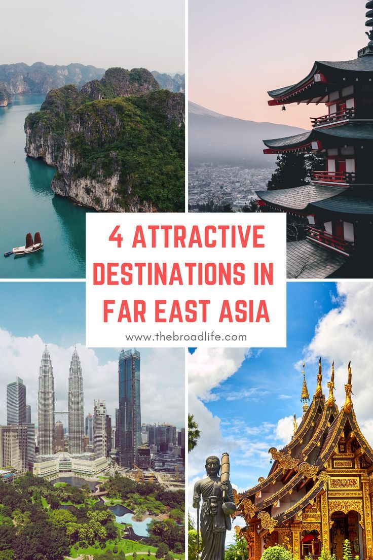 4 Attractive Destinations To Travel In Far East Asia