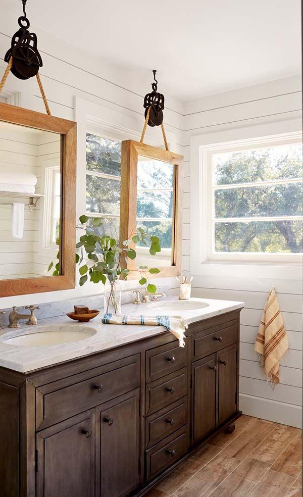 House Tour Beautifully Transformed California Wine Country Cottage Bathroom Remodel Master Bathroom Mirror Design Bathroom Design
