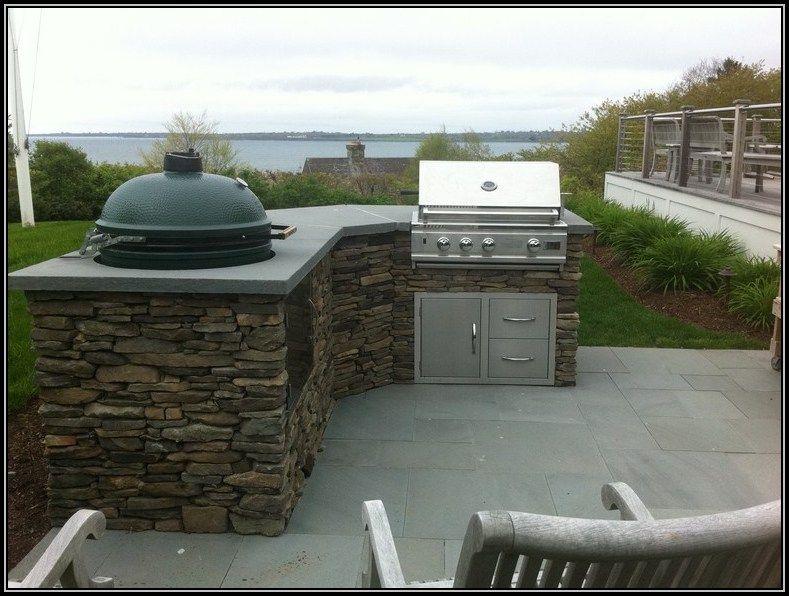 Big Green Egg Cabinet Designs | Outdoor Kitchen Ideas Big Green Egg