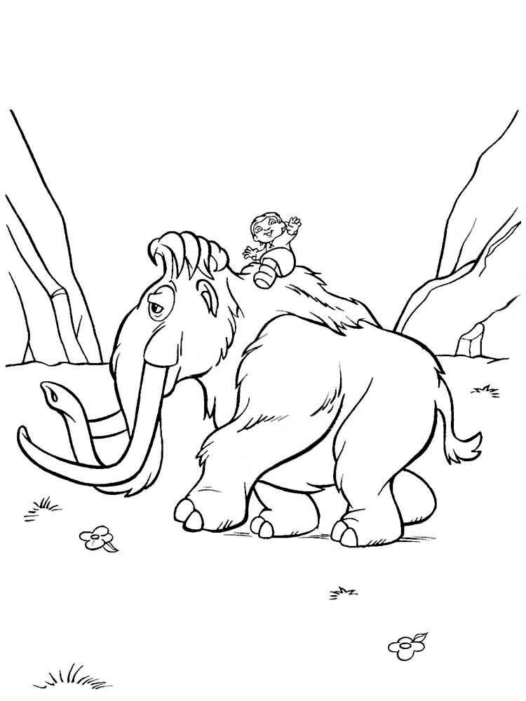 Pin By Sali Ka On Bojanke With Images Coloring Pages Cartoon Coloring Pages Ice Age