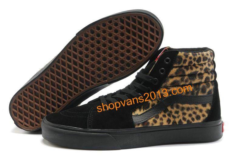 2vans leopardo hombre