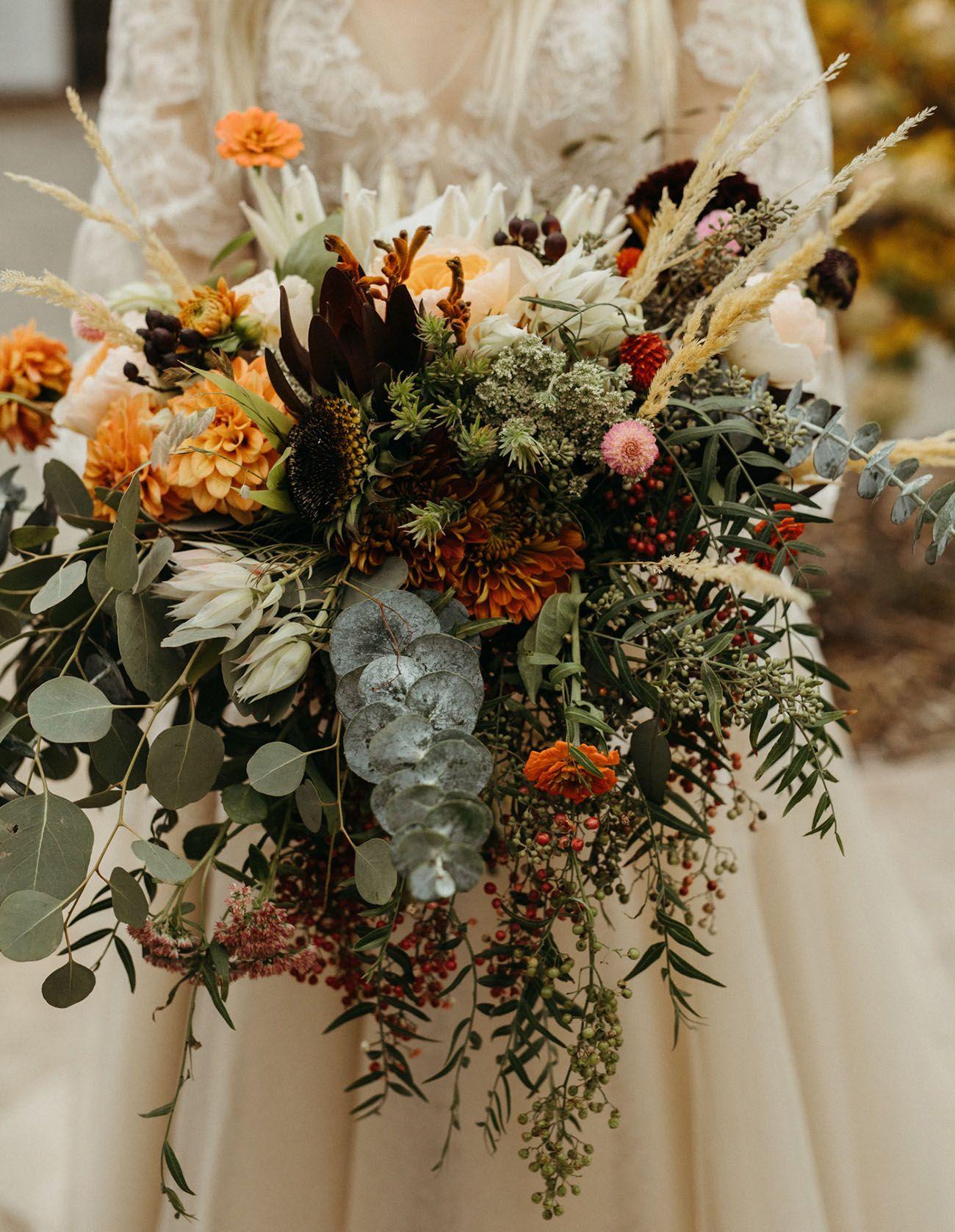When a Wedding Photographer Gets Married: Moody + Ethereal Barn Wedding in Washington