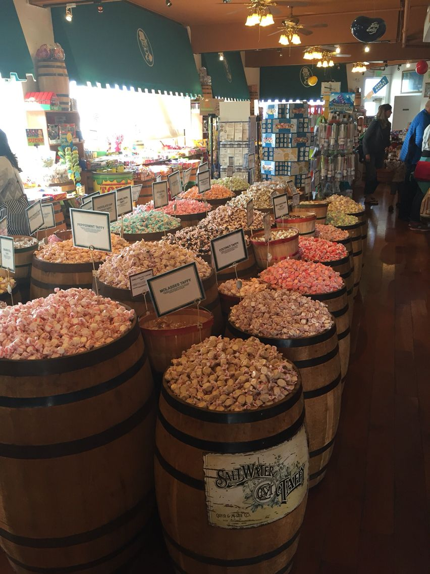 Candy Baron Pier 39 San Francisco Ca Candy Store Taffy Delicious
