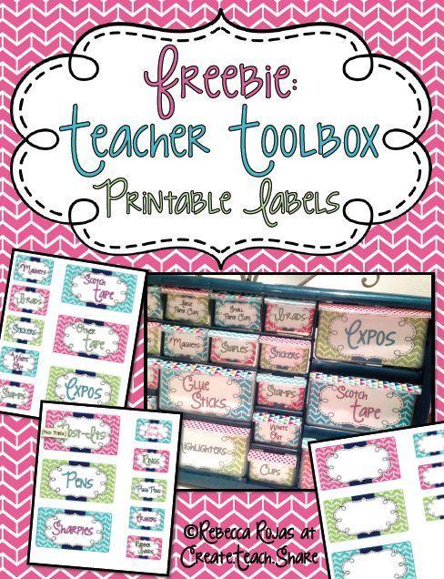 Teacher Toolbox Makeover Create Teach Share Teacher Toolbox Teacher Toolbox Labels Teacher Organization