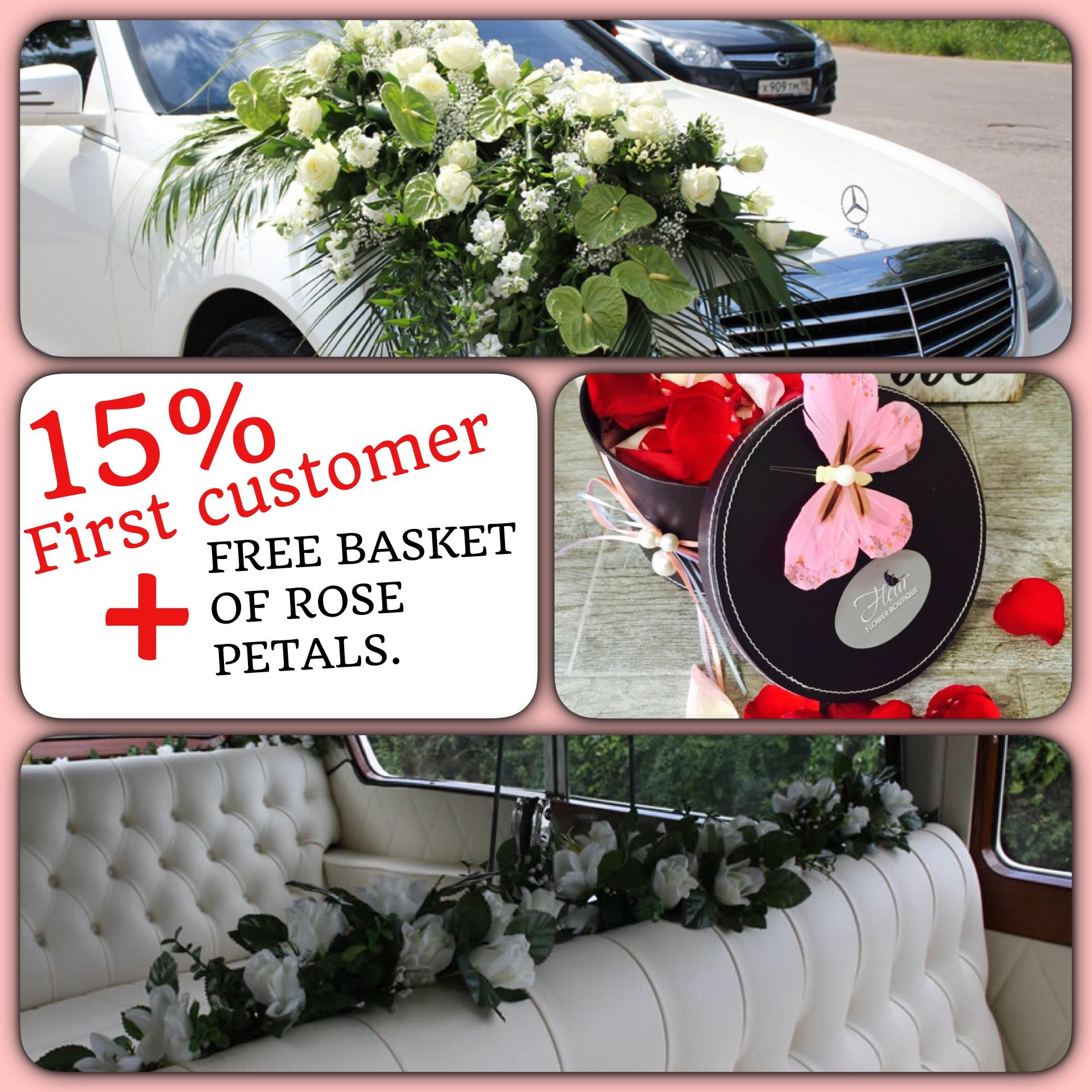 Wedding decorations car  Special gift for your special person We provide carsu and