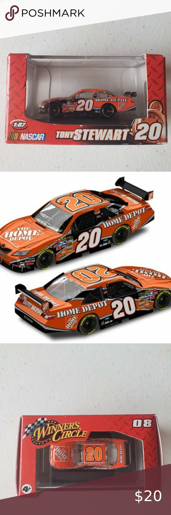 Nascar 2008 Tony Stewart 20 Home Depot In 2020 Nascar Toys Nascar Nascar Racing