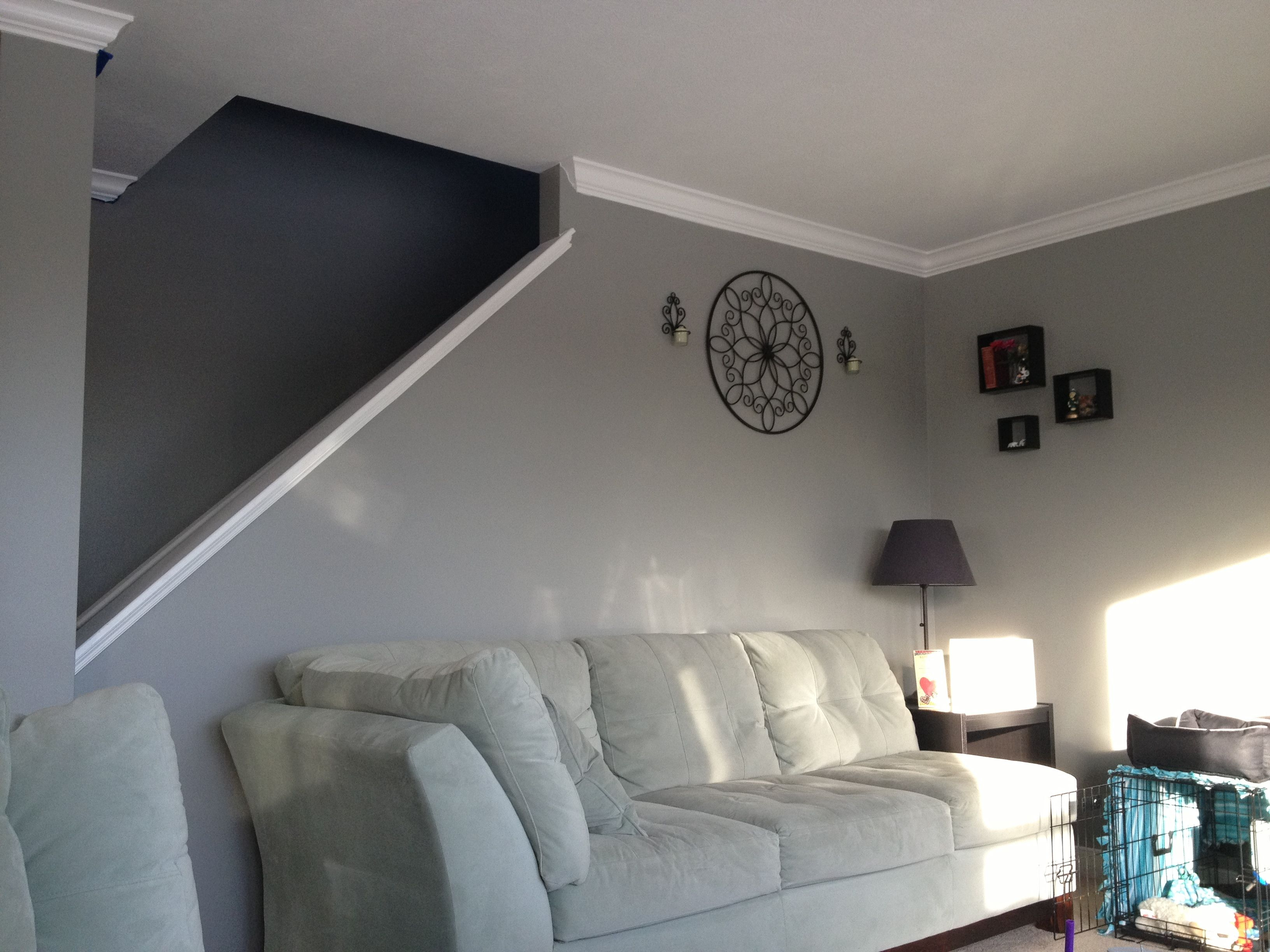 Valspar Wet Pavement This Color Is Amazing In My Living Room With Lots Of Natural Light Not