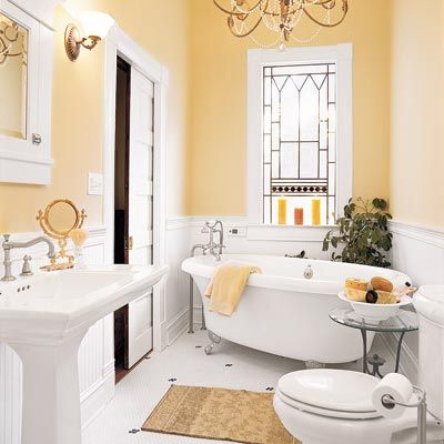 21 Thrifty Ways to Deck Out Your Bath Mis sueños, Probar y Ave