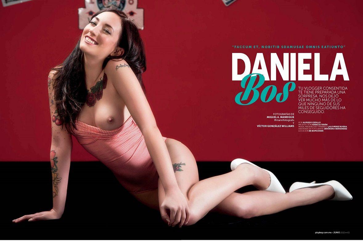 Daniela Bos At Soydanielabos Es La Primera Youtuber Que Se Desnuda