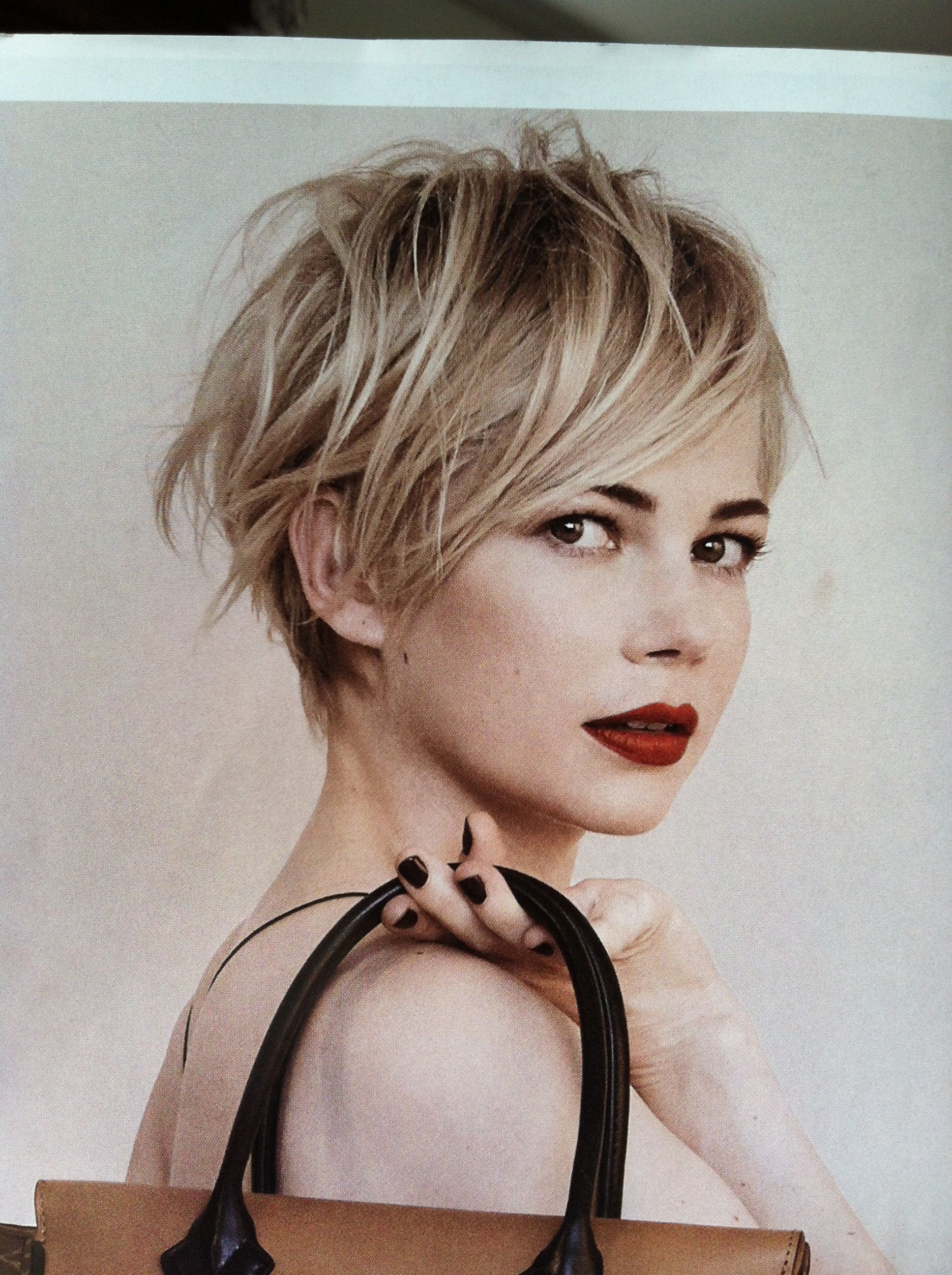 Michelle Williams Pixie Love I M Getting Ready To Go For It
