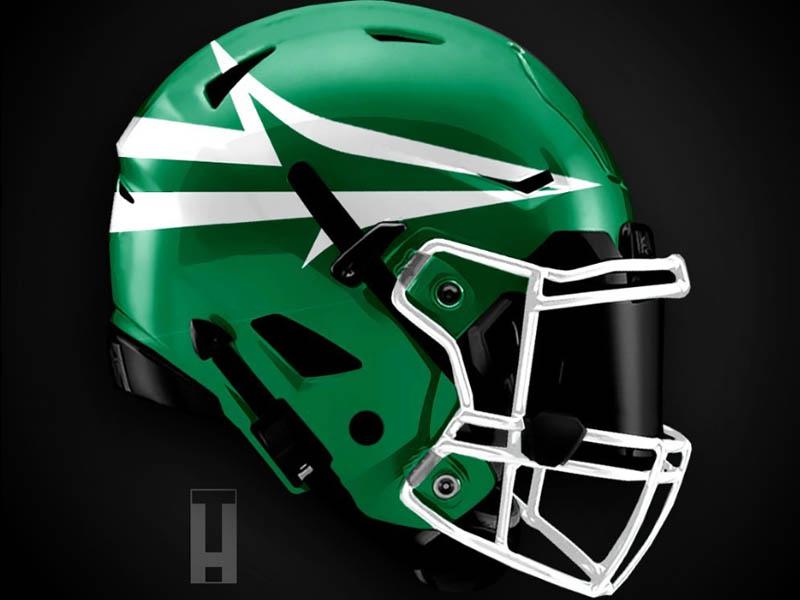 Artist Reveals Absolutely Incredible Helmet Designs For All 32 Nfl Teams Page 10 32 Nfl Teams Nfl Football Helmets Helmet Design