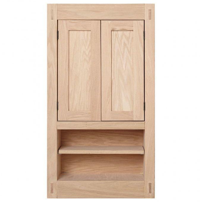 20 Unfinished Mission Hardwood Medicine Cabinet Medicine