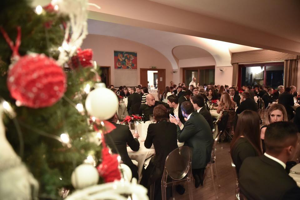 Juventus, cena degli auguri di Natale 2015