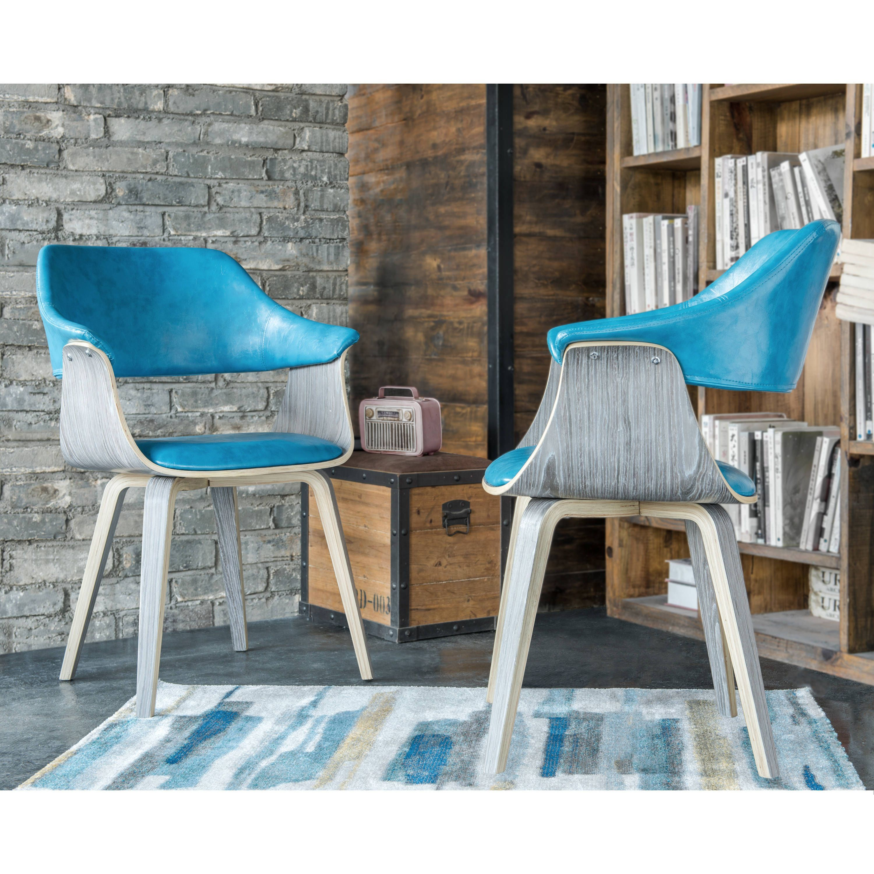 Best Corvus Norah Mid Century Modern Accent Chairs With Wood 400 x 300