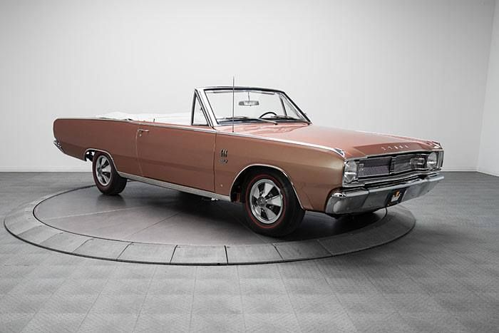 1967 Dodge Dart Gts Convertible 383 4 Speed 1 Of 5 Dodge Dart