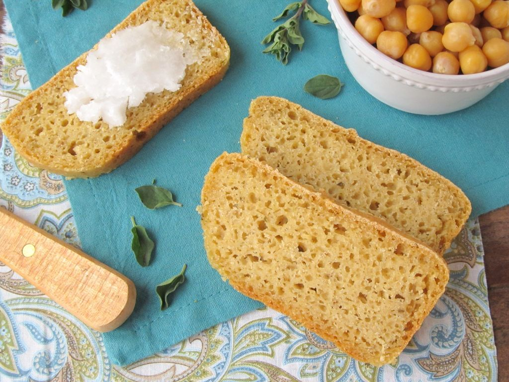 Mediterranean Chickpea Bread