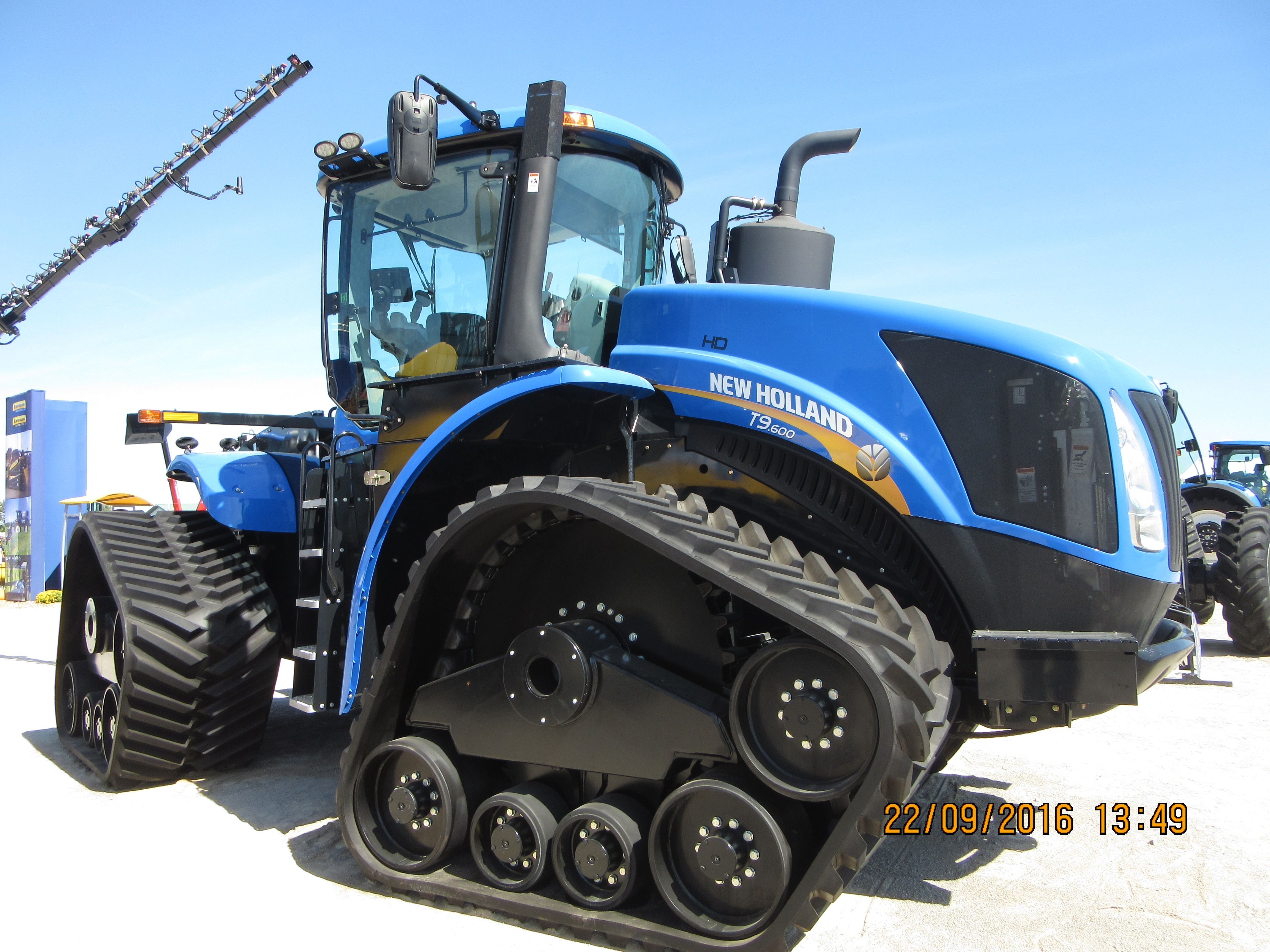 535 Pto Hp New Holland T9 600 Smart Trax New Holland Tractor