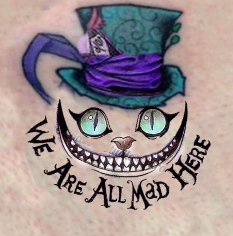Alice In Wonderland Tattoo Idea Vdohnovlyayushie Tatuirovki Novye Tatuirovki Dizajn Tatuirovok