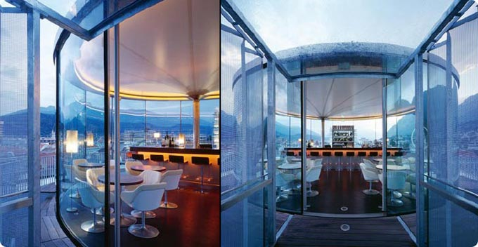 Lichtblick Cafe Austria The Cool Hunter Glass Roof Architecture Innsbruck