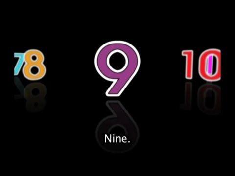 Numeros del 1 al 100 en ingles. - YouTube