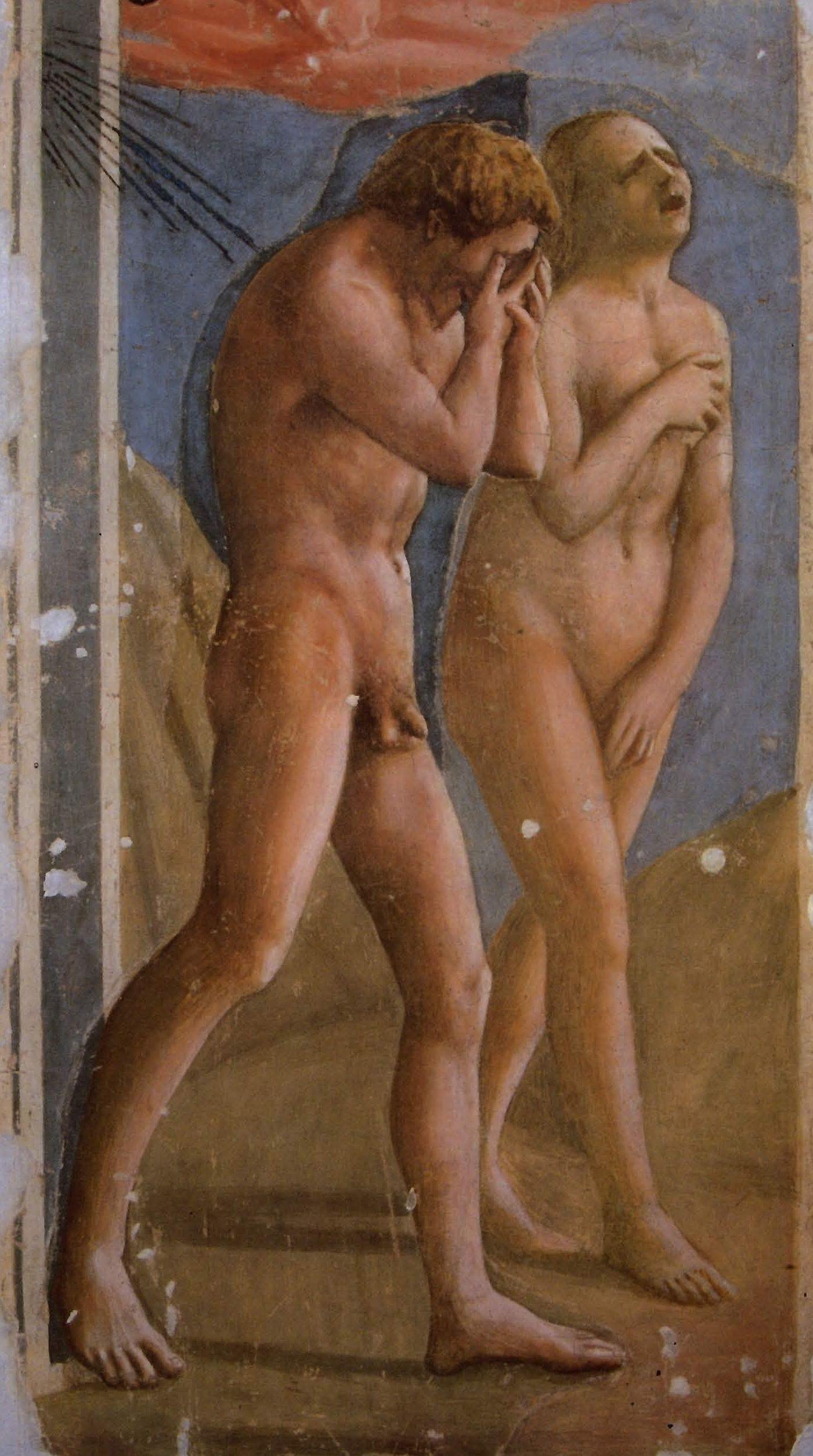 Masaccio - Adam et Eve chassés du paradis terrestre