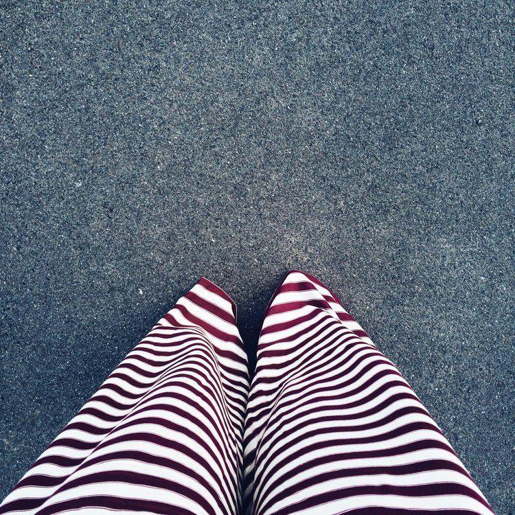"SS16 ""Mademoiselle Escapade"" | Jumpsuit Pippa striped red | Model: Madlén Bohéme"