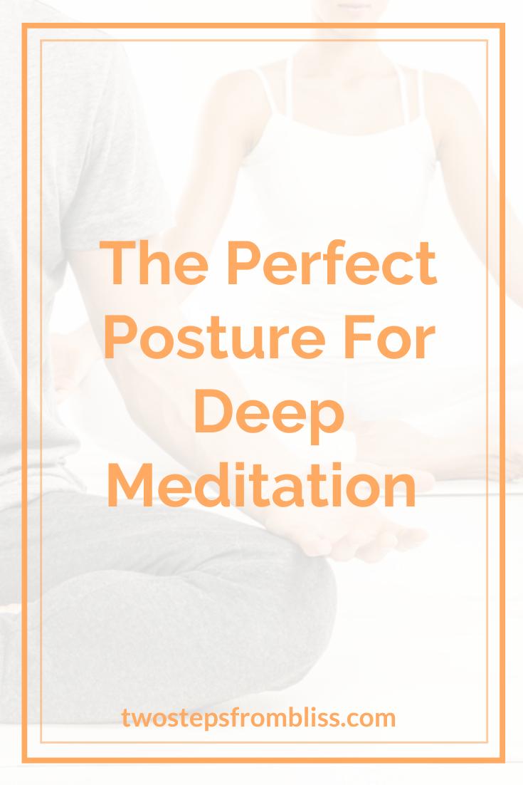 Chakra Meditation | Posture correction, Better posture ... |Meditation Posture Chakra