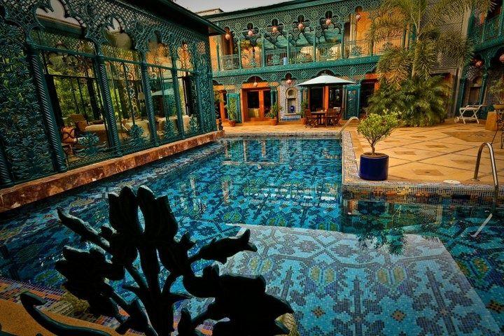 Swimming Pool Floor Designs backyard landscaping ideas swimming pool design The Amazing Swimming Pool Of A House In Karachi Pakistan The