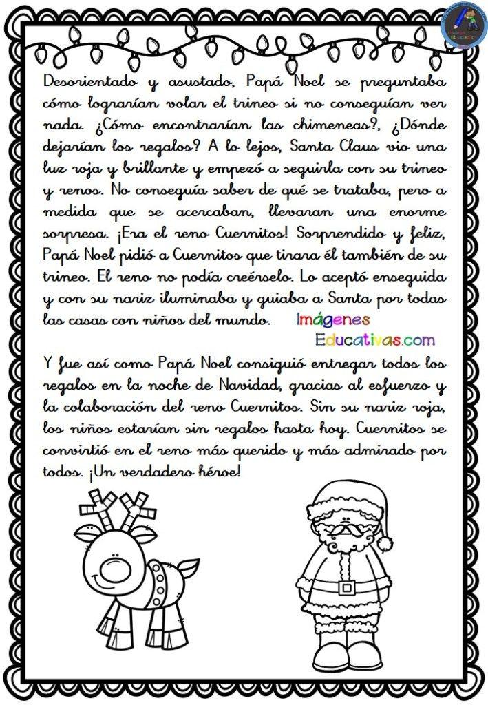 Download Comprension Lectora Cuentos De Navidad Cortos Para Reflexionar PNG