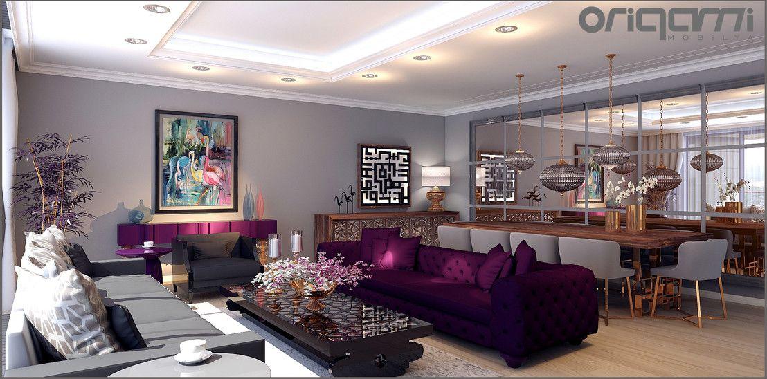 Görkemli salon takımları Salons, Living rooms and Interior - eklektik als lifestyle trend interieurdesign