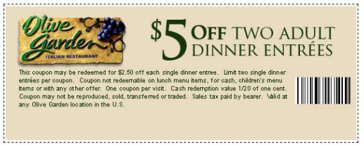 olive garden coupons printable 2019 Google Search