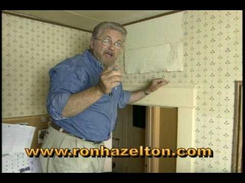 Quick video on removing wallpaper. This guy makes it look