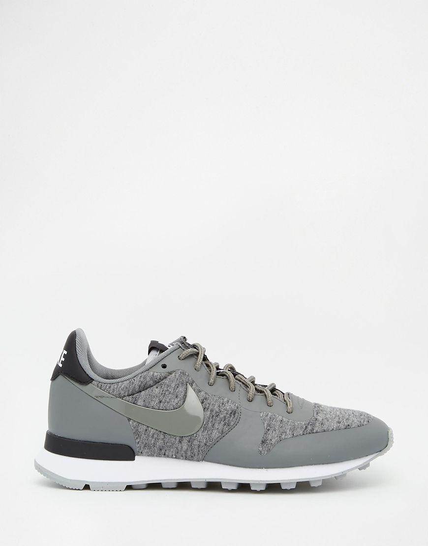 check-out f4751 6b8c8 Nike TP Internationalist Grey Trainers | Fashion Sense ...
