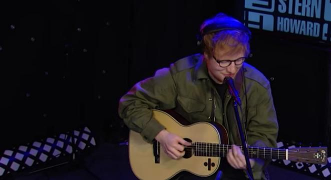 Ed Sheeran Covers 50 Cent Coldplay And Blackstreet On Howard