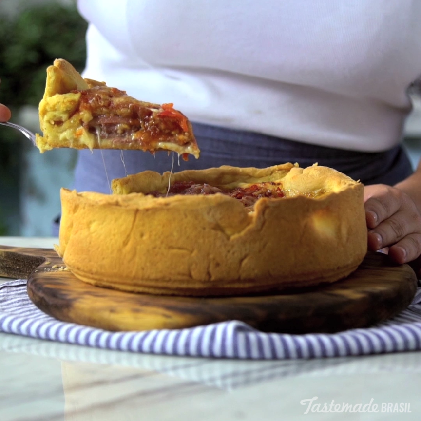 Stuffed pizza recipe deep dish pizzas and meals main dishes forumfinder Choice Image