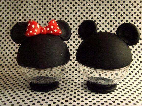 Centro De Mesa Baleiro Mickey Party Decoracao Festa Minnie E