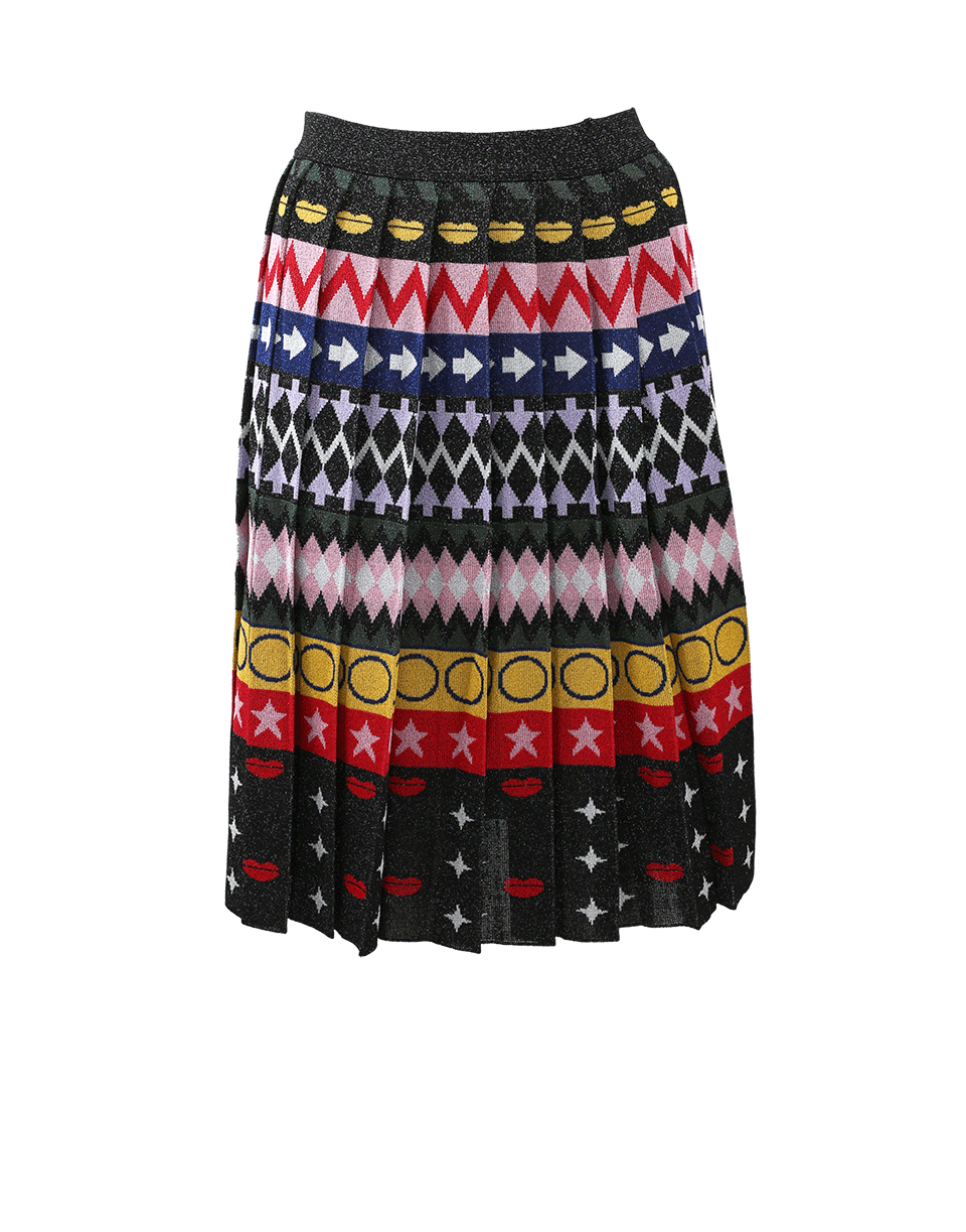 MARY KATRANTZOU Mandy Printed Stripe Skirt. #marykatrantzou #cloth #skirt
