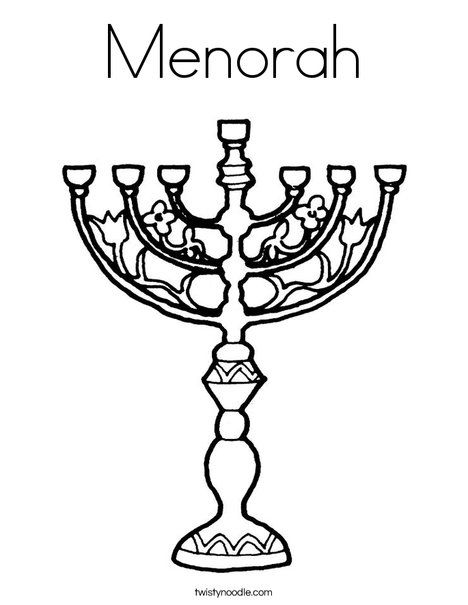 Menorah Coloring Page Coloring Pages Hanukkah Preschool Holiday Crafts For Kids