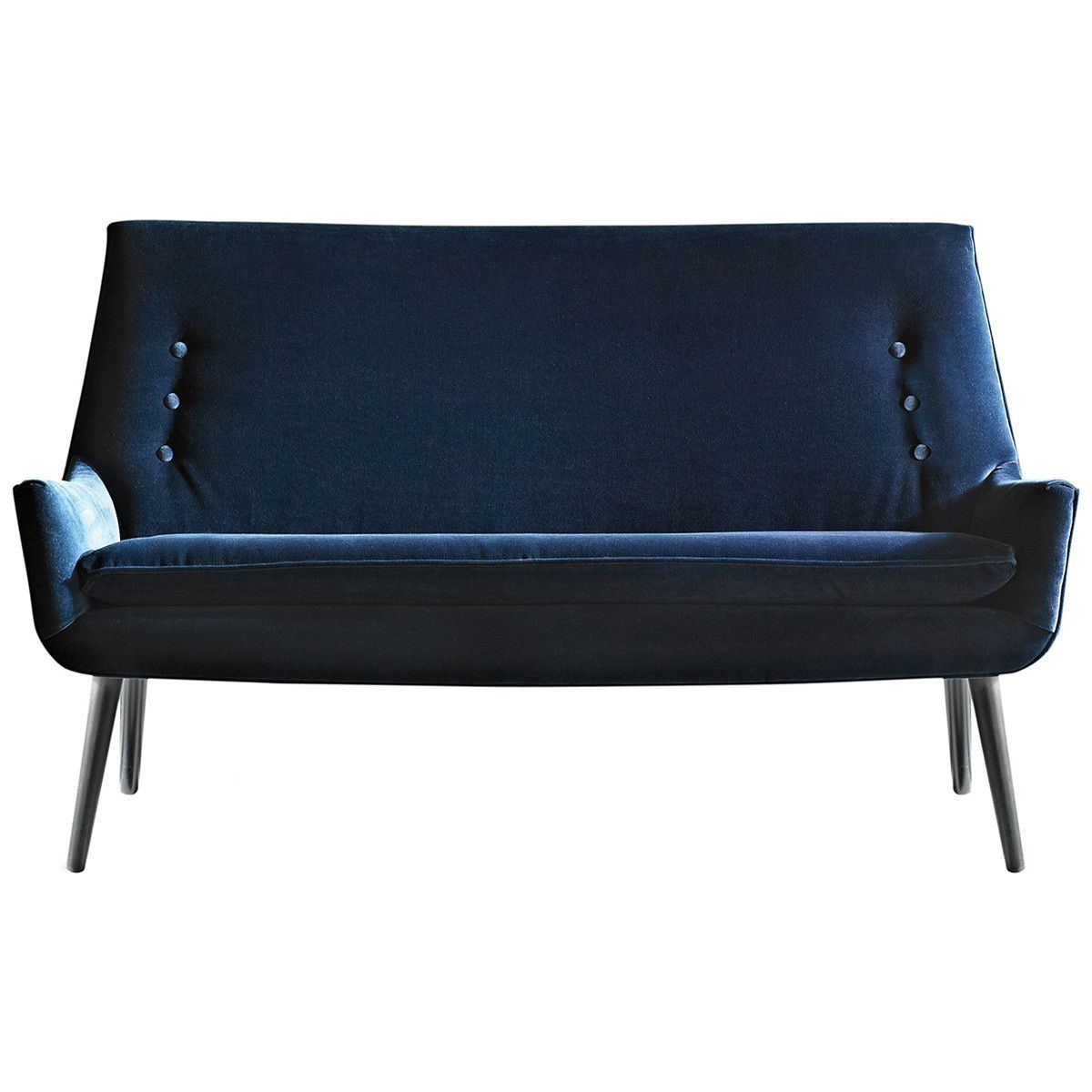 Small low settee modern sofas and sectionals
