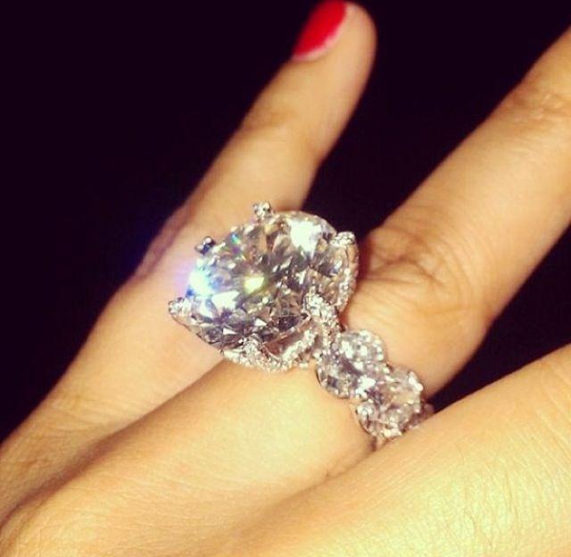 Big Ass Wedding Ring Wedding Pinterest Engagement Rings Rings