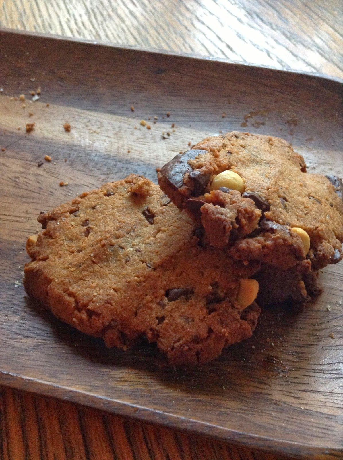 Vegemisiä: Suklaata ja suolapähkinöitä