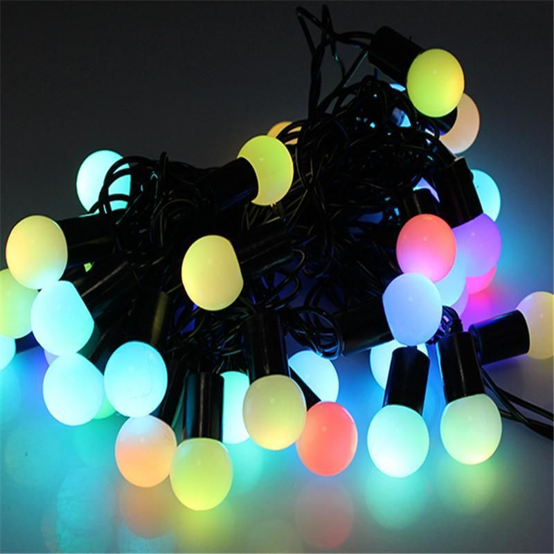 Novelty outdoor lighting led ball string lamps 5m 50leds christmas novelty outdoor lighting led ball string lamps 5m 50leds christmas lights fairy wedding garden pendant garland decoration affiliate aloadofball Gallery