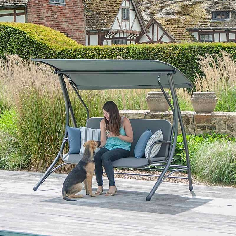 Garden Furniture Swing Seats portofino swing seatalexander rose | garden furniture, swings