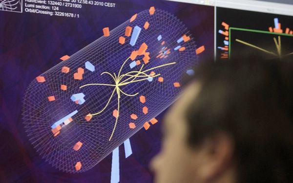 Hallan la más sólida evidencia de 'partícula de Dios'