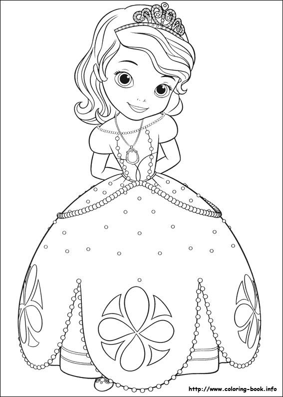 - Sofia The First Coloring Picture Princess Coloring Pages, Disney Princess  Coloring Pages, Coloring Books