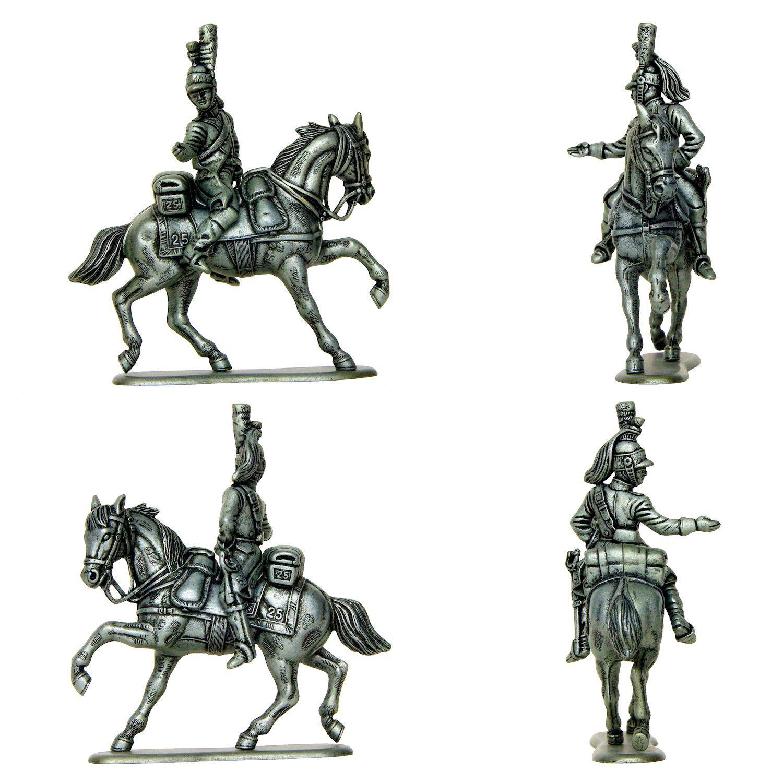 Suboficial del 25° regimiento de dragones (Manufacture Historique de Soldats de Plomb)