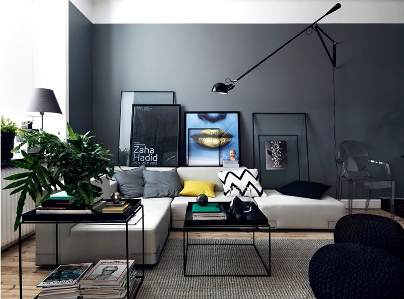 A Beautifully Styled Living Space In Stockholm Wohnen