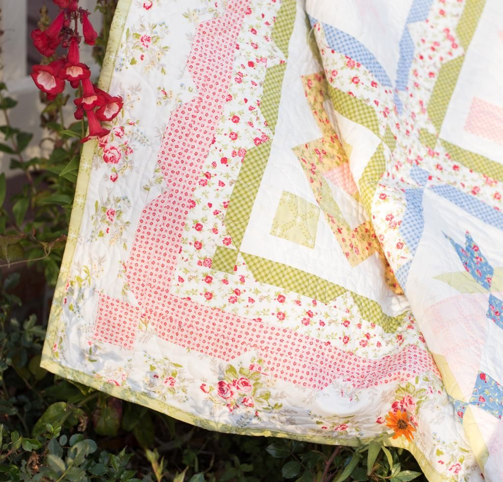 Garden Grove Block Of The Month Quilt Kit by This & That